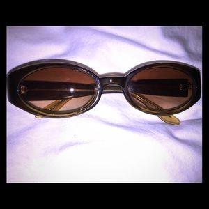 Olive Greenish/Brown Sunglasses